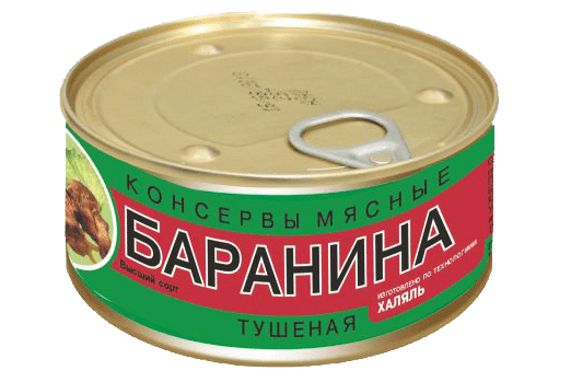 Баранина тушёная. 325 гр. Экопрод